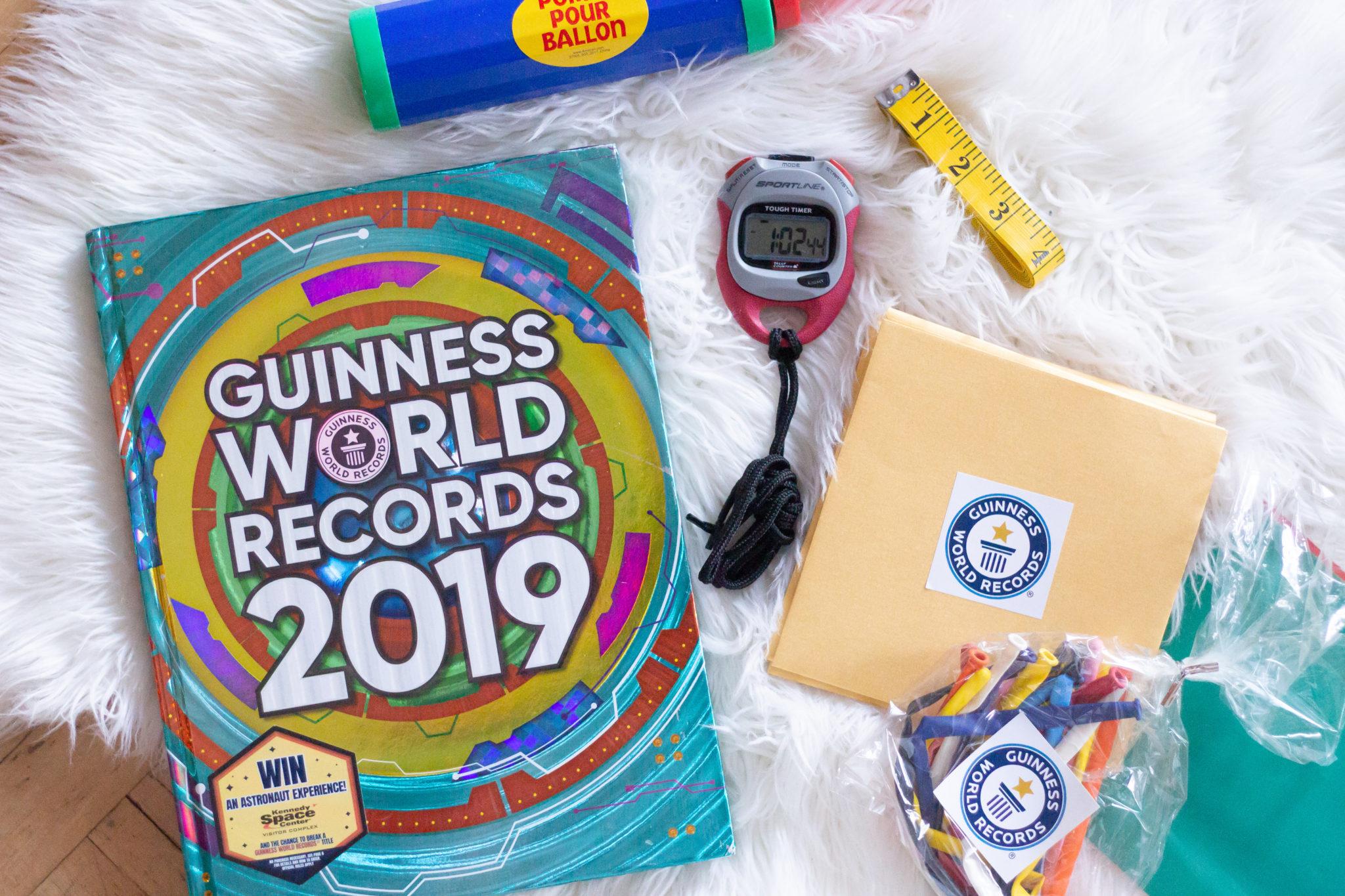 2019 Guinness World Records: Fastest Balloon Blower?
