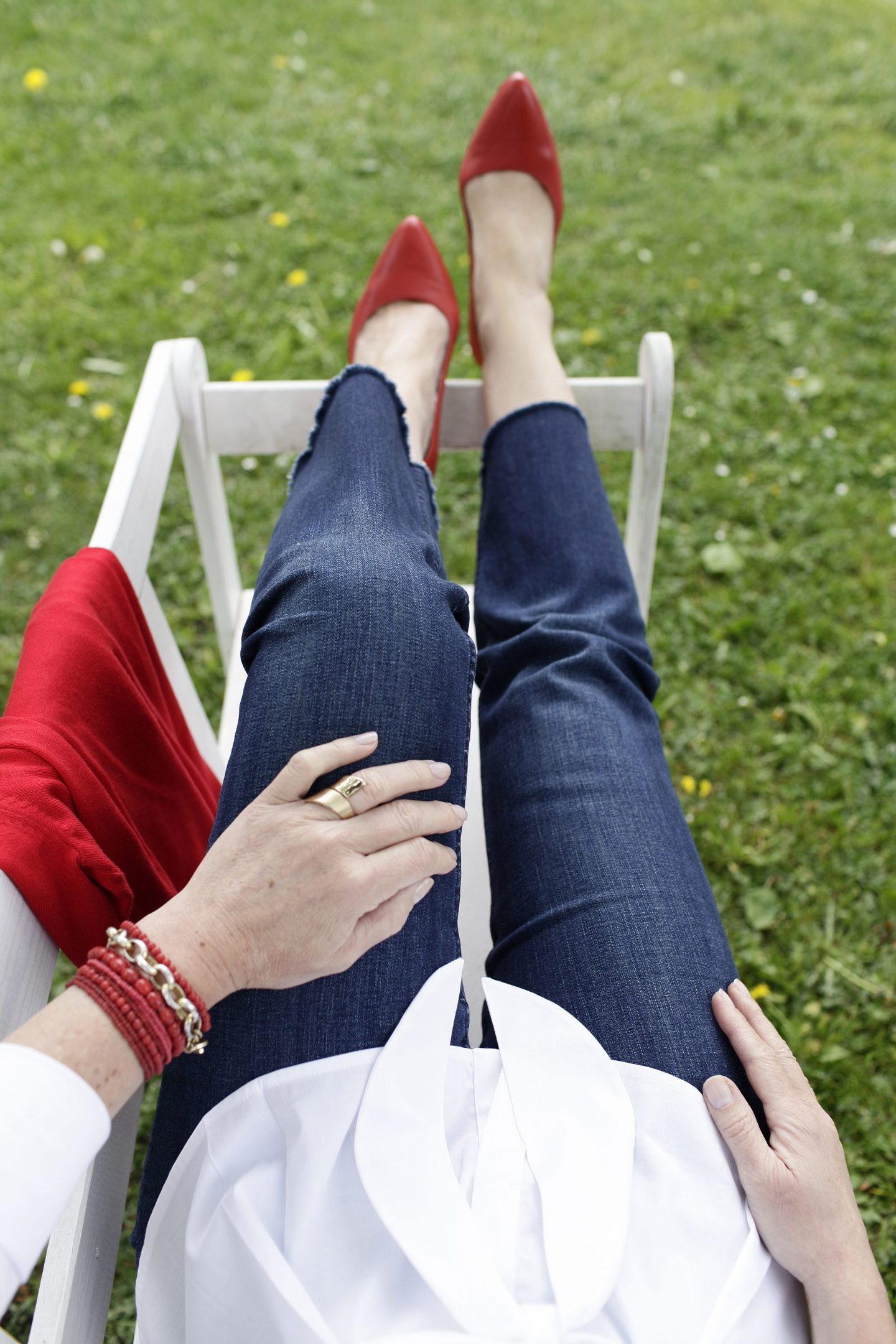 Fruehling Jeans Calla Shoes LadyofStyle