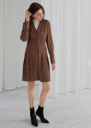 Kleid mit animal prints von & other stories