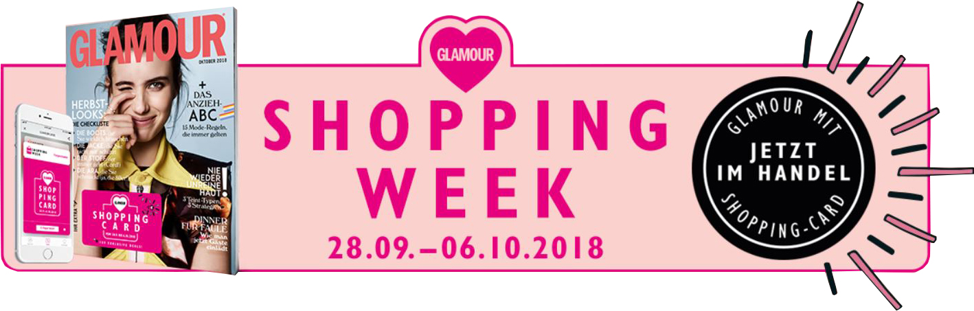 Glamour Shopping Week Herbst 2018