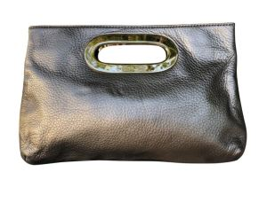 Goldene Vintage Clutch Michael Kors