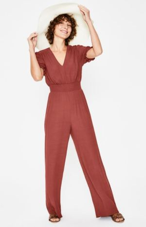 Rostroter Overall