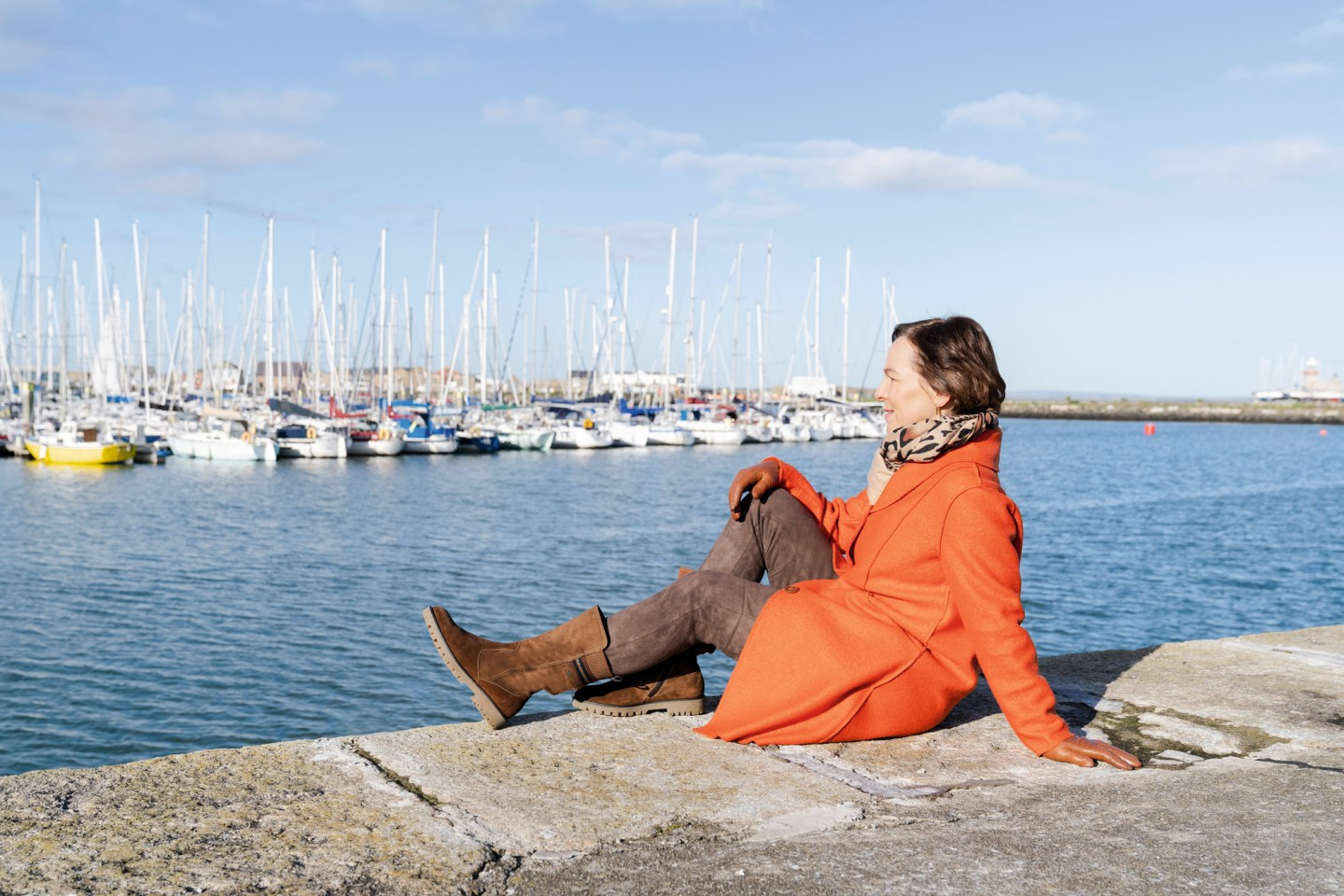 LadyofStyle ara shoes Reise Irland Howth Herbst Winter Stiefel bequem