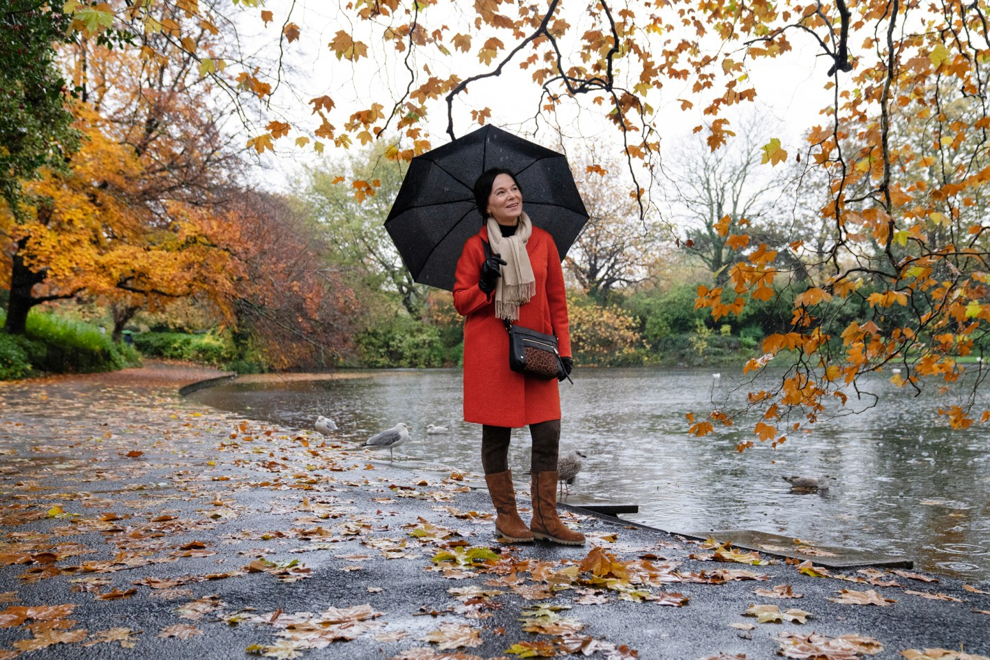 LadyofStyle ara shoes Reise Irland Dublin Herbst Winter Stiefel bequem