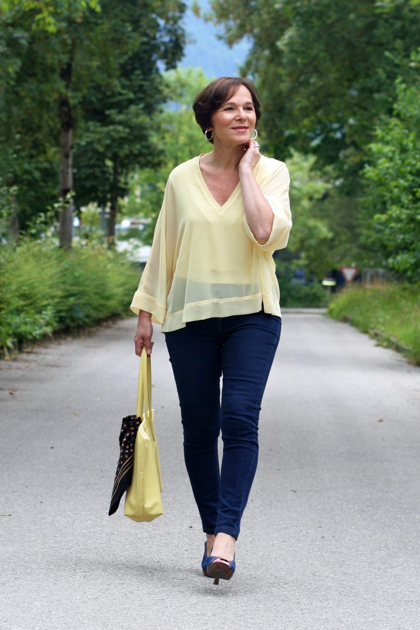 LadyofStyle Gelb Trendfarbe 50plus Blogger