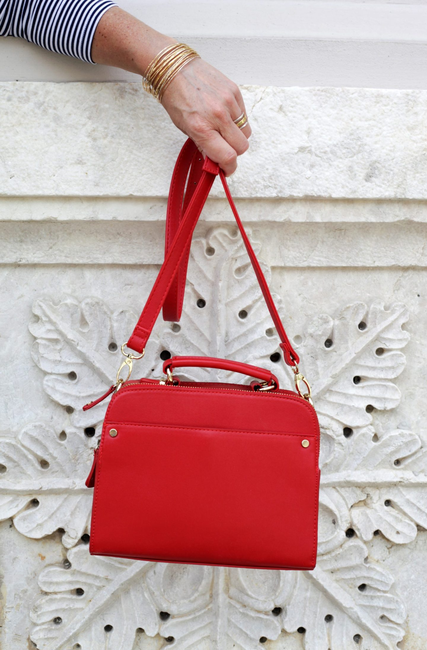 LadyofStyle Rote Tasche Accessorize 50plus Blogger