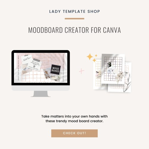 Moodboard Creator For Canva