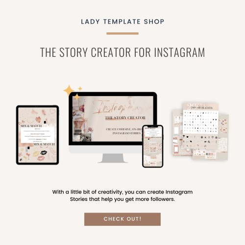THE STORY CREATOR for Instagram