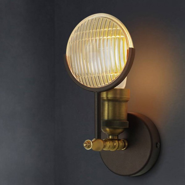 american creative retro wall light classic car light shape industrial wall sconce lamp bedroom bedside aisle lighting luminaires