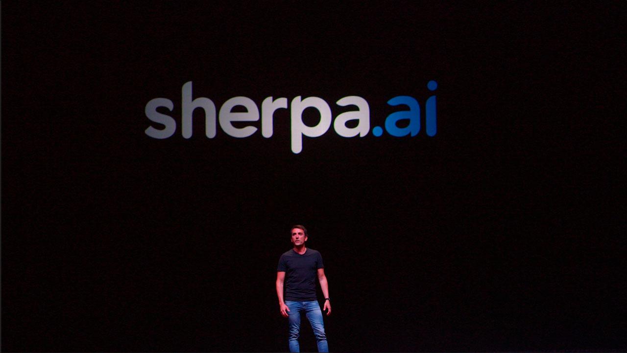 Xabi Uribe-Etxebarria, fundador y CEO de Sherpa.ai, en Sherpa Keynote 2020