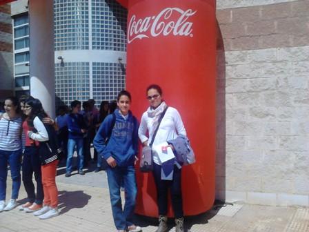 Dos alumnos de 2º de ESO participan en el 53º concurso de jóvenes talentos que organiza Coca Cola