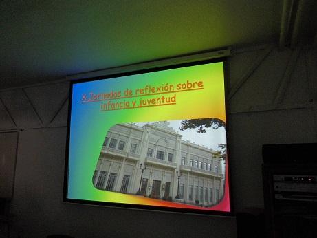 Alumnos de 4º ESO en las X Jornadas sobre Infancia y Juventud en Villena
