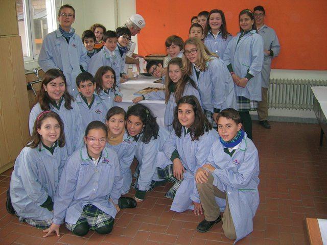 Los alumnos de sexto de Primaria realizamos un taller de cocina
