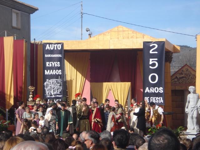Visita Alumnos 4º ESO al auto sacramental de los Reyes Magos de Cañada