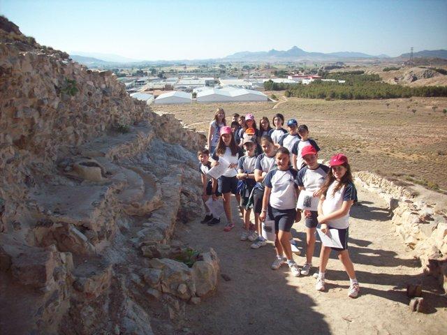 Visita al Cabezo Redondo