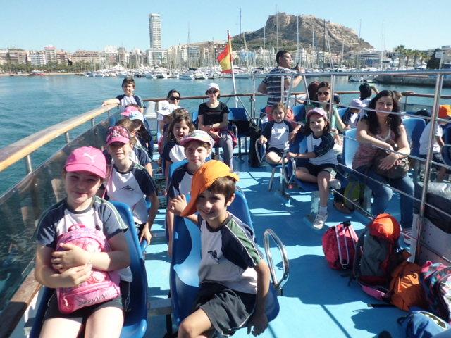 Excursión a Alicante 2º de Primaria