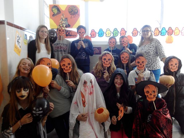 Halloween en secundaria