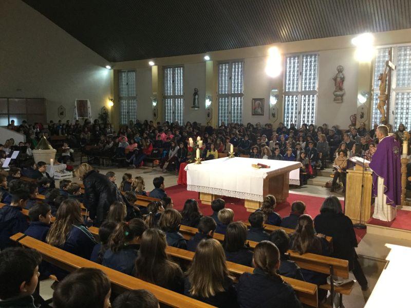 Eucaristía  Celebración  de la Navidad.