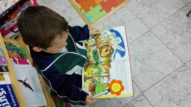 Día del libro en 2º ciclo de Infantil