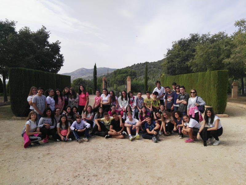Los alumnos de 2º ESO visitan Casa Tápena.