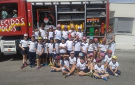 Visita al Parque de bomberos Villena