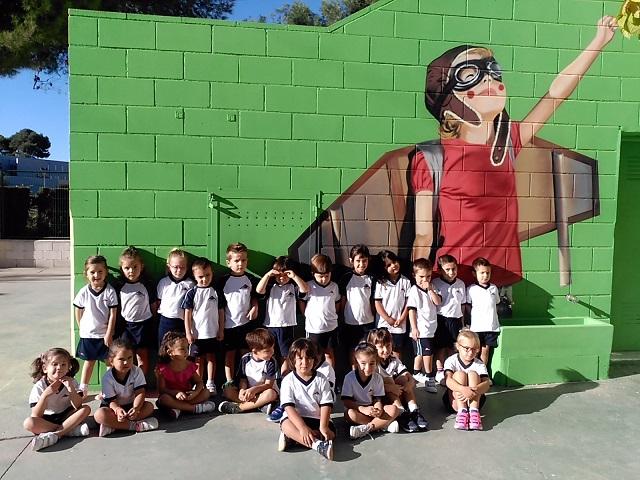 Primer día de clase en Educación Infantil 4 y 5 años