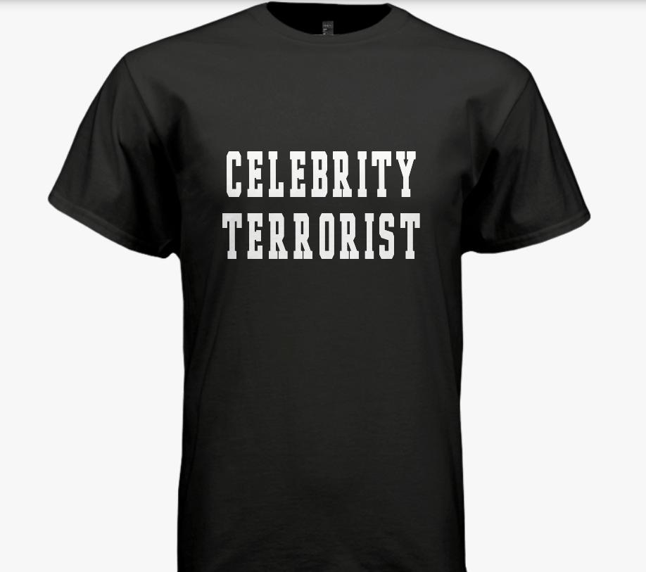 Celebrity Terrorist Tee