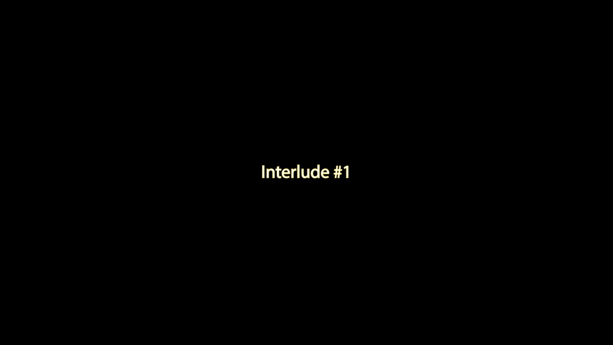 Interlude #1 Marq Robinson