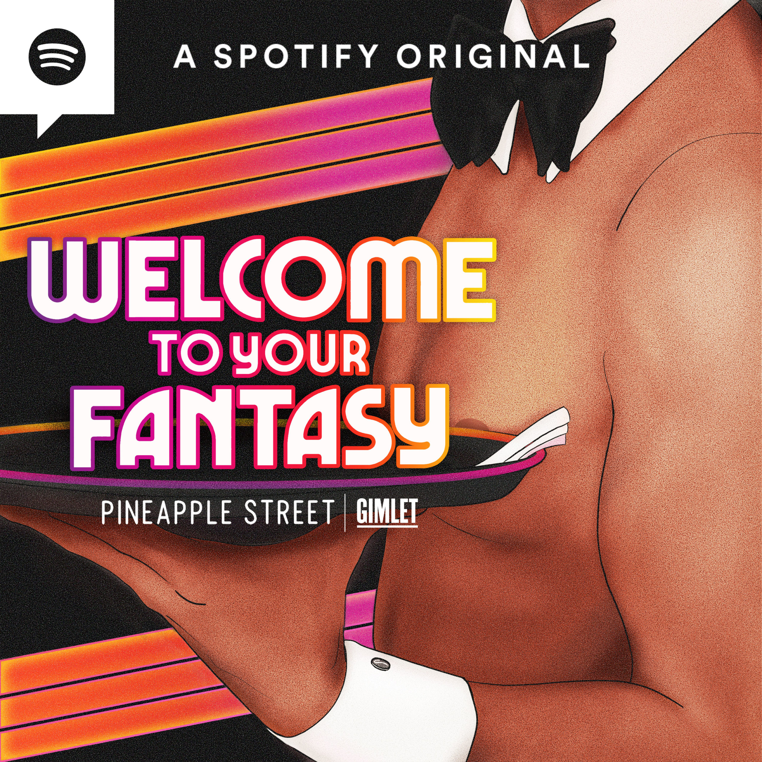 Welcome To Your Fantasy Podcast Logo