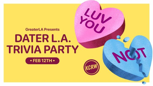 2021 Valentine's Day Events KCRW