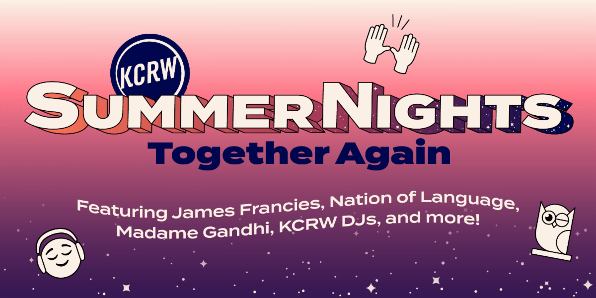 Summer Nights Presented By KCRW Together Again