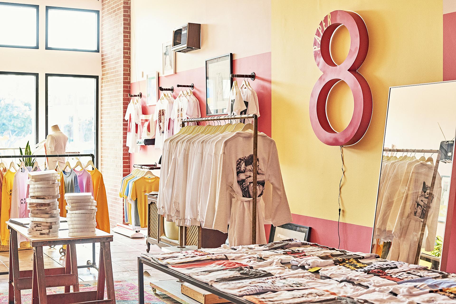 Paper 8 Apparel - Shop Photo