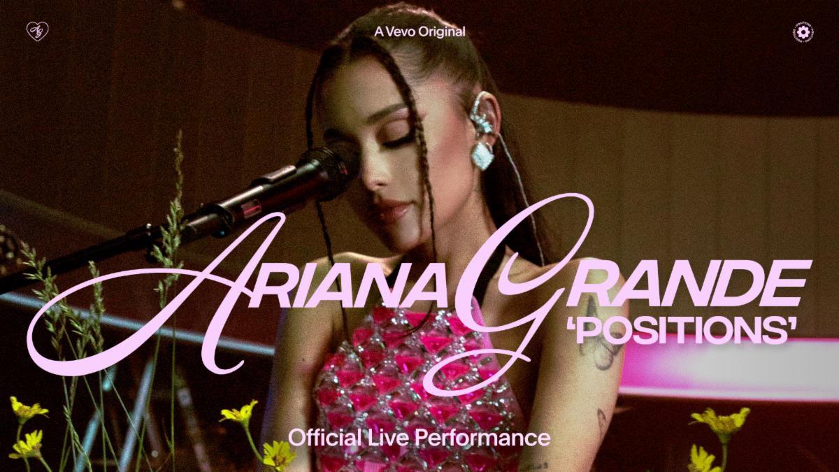 Arianda Grande Positions Live
