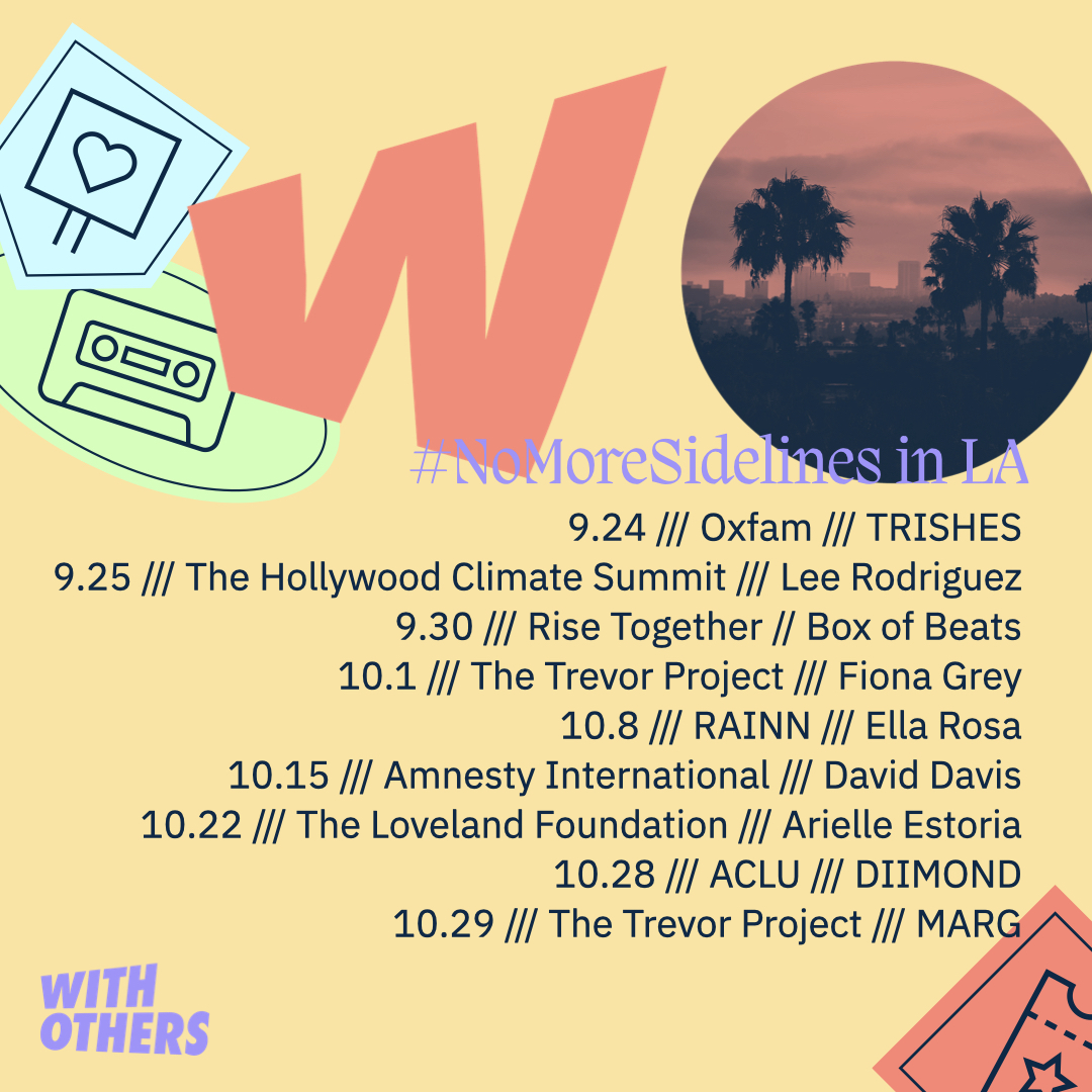 WithOthers Launch Event Flyer