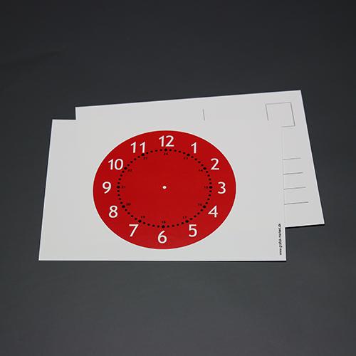 Postkort med urskiven 1