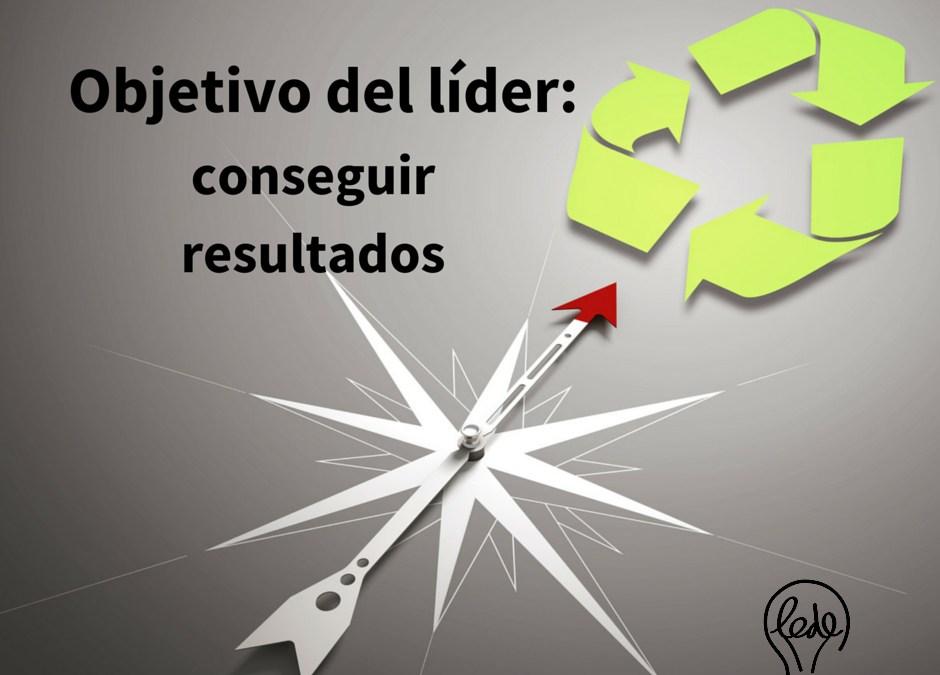 Objetivo del líder: conseguir resultados