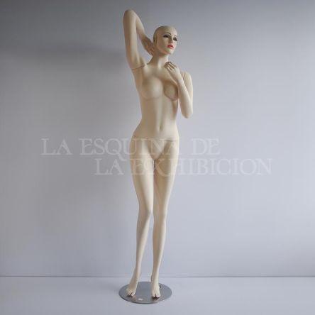 Maniquí dama c.c. maquillada ref. 6629