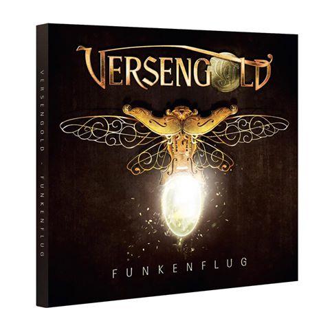 Versengold - Funkenflug - Albumcover