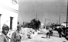 Retirada de escombros en Tolosa Latour