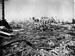 Área devastada