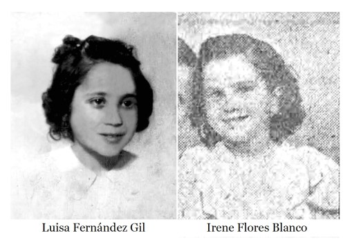 Luisa Fernández Gil e Irene Flores Blanco
