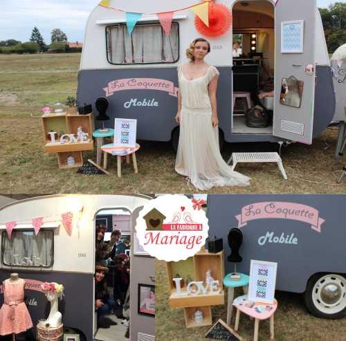 beauty truck mariage