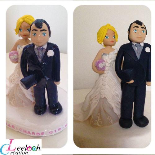 figurines personnalisées mariesVicky