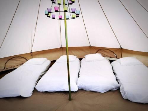 wedding camping