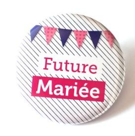 badge future mariée
