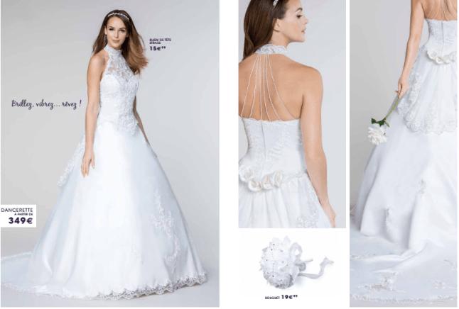 ad7379f9717 ... Tati mariage robe dancerette - La fabrique à mariage ...