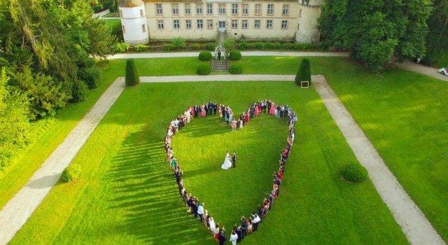drone mariage - la fabrique a mariage
