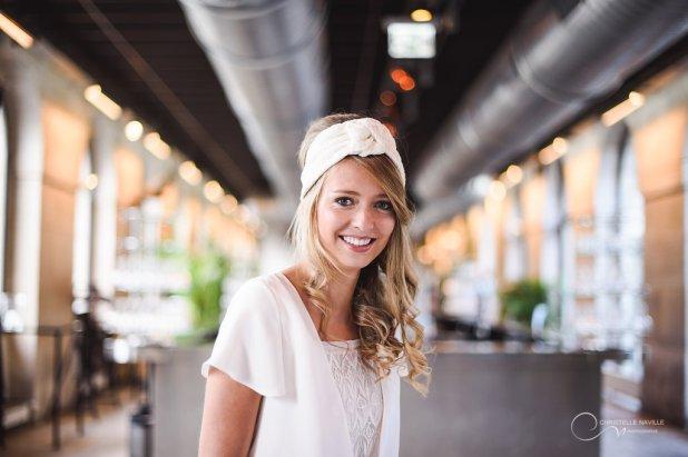 robe LES MARIEES FOX-mariage civil - la fabrique à mariage
