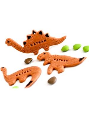 Biscuit prénom dinosaure