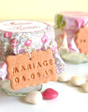 contenant dragées aquarelle mariage